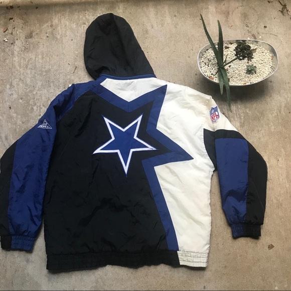 los angeles 5f924 c7dd1 Vintage 90s Dallas Cowboys Apex Jacket